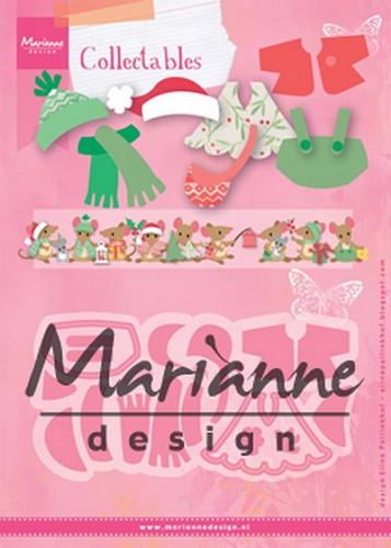 Marianne Design - Die - Collectables  - Eline`s outfits