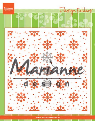 Marianne Design - Design folder - Snow and ice crystals
