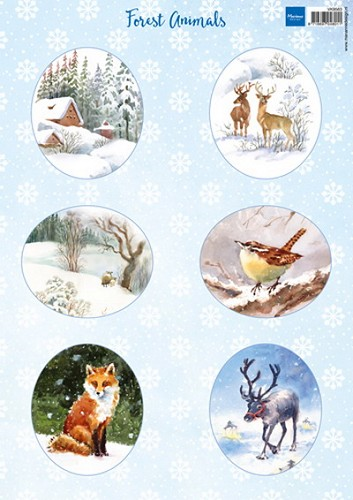 Marianne Design - Knipvel-  Forest animals fox