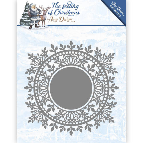 Amy Design - Die - The feeling of Christmas - Ice crystal circle
