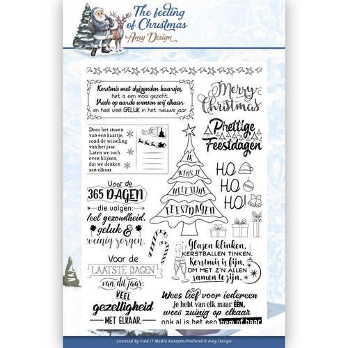 Amy Design - Clearstamp - The Feeling of Christmas