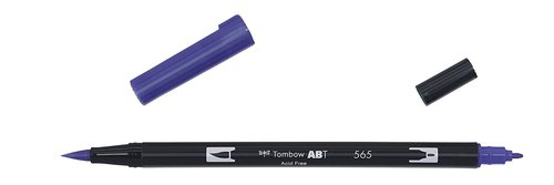 Tombow - Dual Brush Pen - deep blue