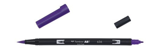Tombow - Dual Brush Pen - imperial purple