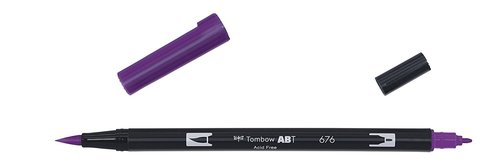 Tombow - Dual Brush Pen - royal purple