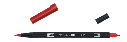 Tombow - Dual Brush Pen - warm red