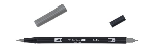 Tombow - Dual Brush Pen - cool grey10