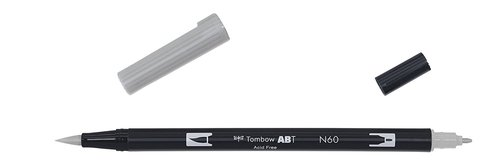 Tombow - Dual Brush Pen - cool grey6
