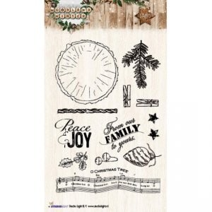 Studio Light - Stamp -  Woodland winter - NR 193