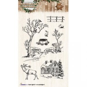Studio Light - Stamp - Woodland winter - NR 192