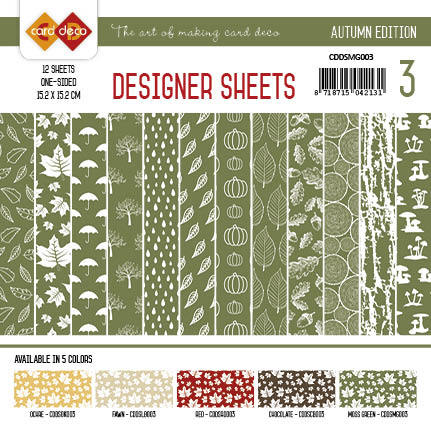 Yvonne Creations - Designer Sheets - Autumn Colors-Mosgroen