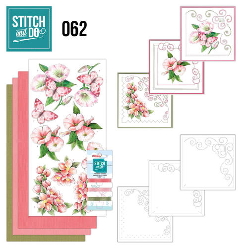 Card Deco - Stitch and Do - Borduurset 62 - Condoleance