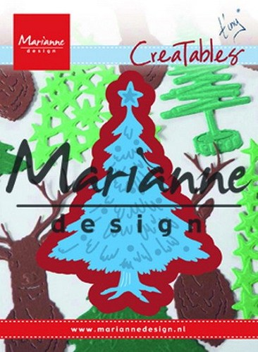 Marianne Design - Die - Creatables - Tiny`s Christmas Tree