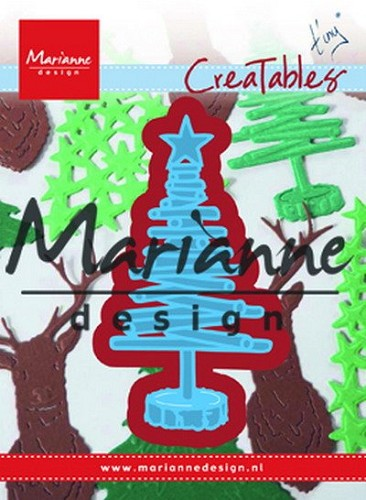 Marianne Design - Die - Creatables - Tiny`s Christmas Tree Wood