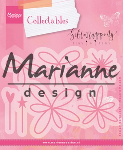 Marianne Design - Die - Collectables - Karin`s Pins and Bows