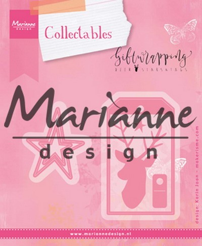 Marianne Design - Die - Collectables - Karin`s Deer Star and Tag