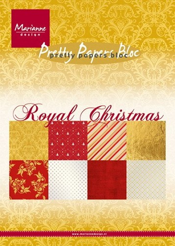 Marianne Design - Pretty papers - Royal Christmas