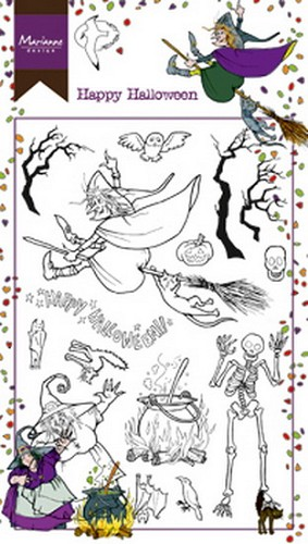 Marianne Design - Clear Stamp - Hetty`s Happy Halloween