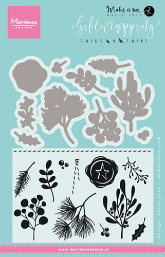 Marianne Design - Clear Stamp - Twigs and Twine