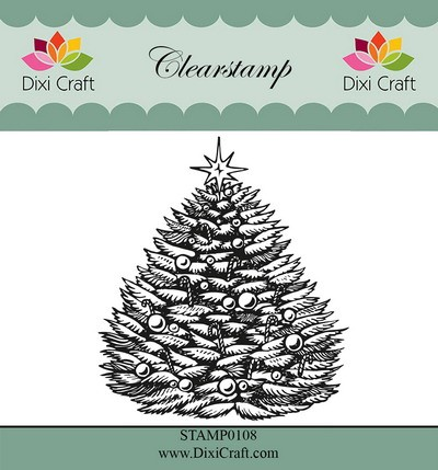 Dixi Craft - Clearstamp - Christmas tree