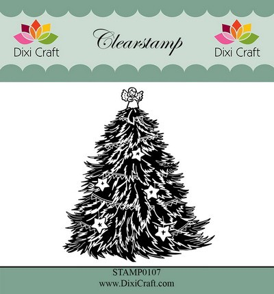 Dixi Craft - Clearstamp - Christmas tree 2