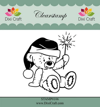 Dixi Craft - Clearstamp - Teddy bear 2
