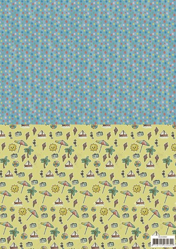 Yvonne Creations - Background sheets - Summer holiday