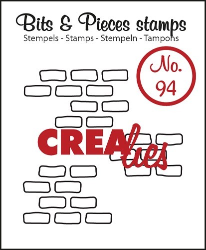 CreaLies - Bits & Pieces - 3 x Open Bricks (medium)
