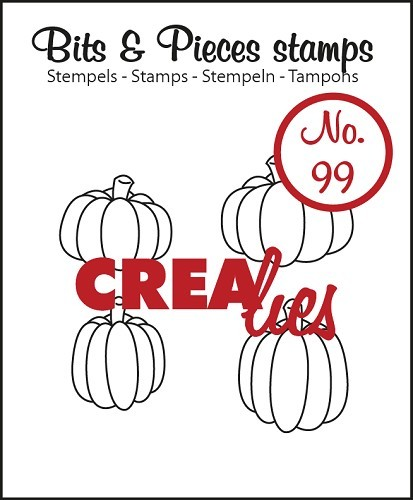 CreaLies - Bits & Pieces - 4 Pumpkins