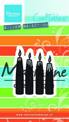 Marianne Design - Die - Craftables - Advent Candles