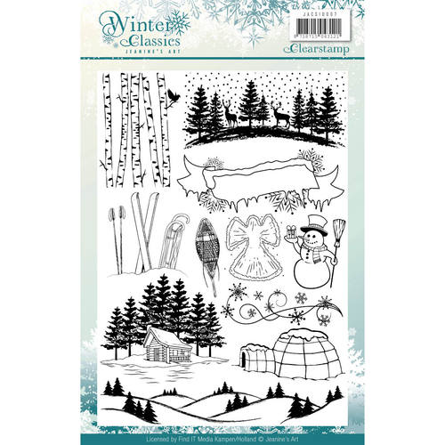 Jeanines Art - Clearstamp - Winter Classics
