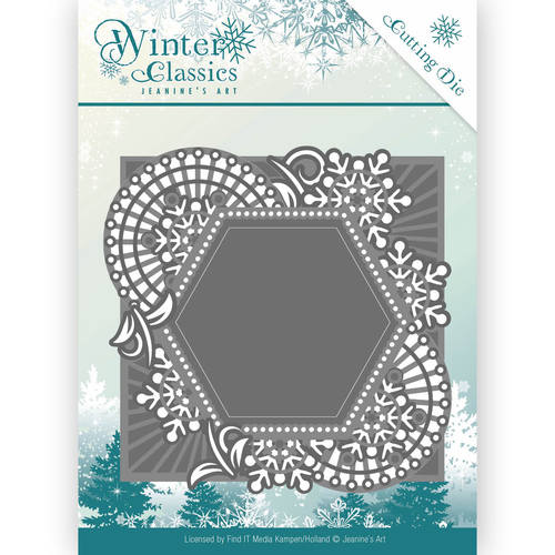 Jeanines Art - Die - Winter Classics - Mosaic frame