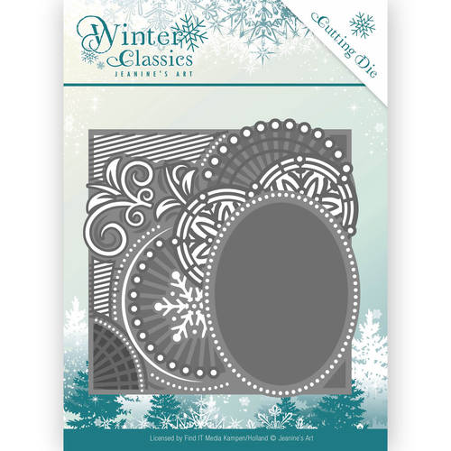 Jeanines Art - Die - Winter Classics - Curly Frame