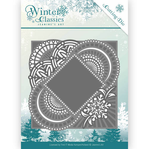 Jeanines Art - Die - Winter Classics - Mirror Frame
