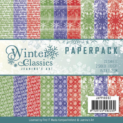 Jeanines Art - Paperpack - Winter Classics