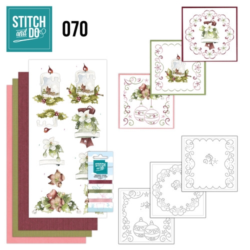 Card Deco - Stitch and Do - Borduurset 70 - Christmas