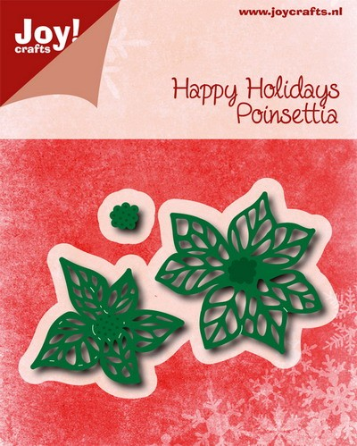Joy!Crafts- Die - Happy Holiday - Pionsettia