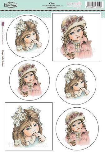 The Hobby House - Sugar Nellie Design - Stansvel - Clara