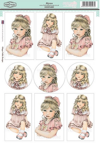 The Hobby House - Sugar Nellie Design - Stansvel - Alyssa