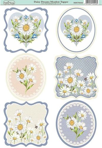 The Hobby House - Meadowl Topper - Stansvel - Daisy Dreams