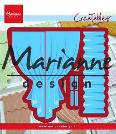 Marianne Design - Die - Creatables - Curtains