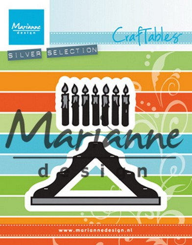 Marianne Design - Die - Craftables - Candles Bridge