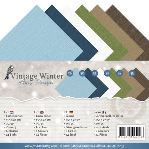 Amy Design - Linnenpakket - 4K - Vintage Winter