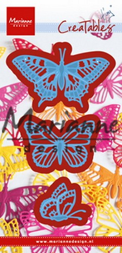 Marianne Design - Die - Creatables - Tiny`s Butterflies