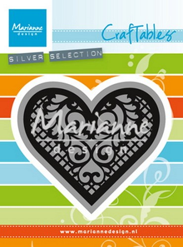 Marianne Design - Die - Craftables -  Lace Heart