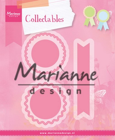 Marianne Design - Die - Collectables - Rosettes & labels