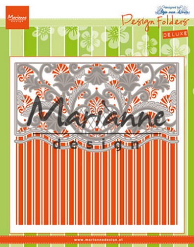 Marianne Design - Design Folders de Luxe - Anja`s ornamental border