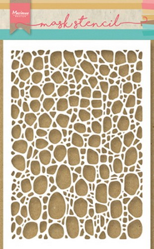Marianne Design - Mask stencil -  Tiny`s Cobble Stone