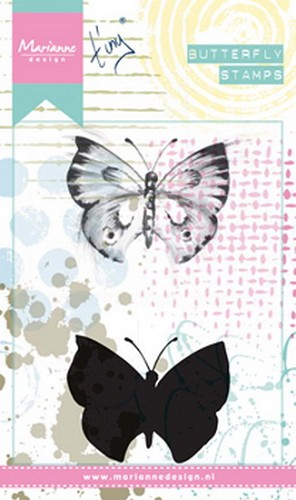 Marianne Design - Cling Stamp - Tiny`s Butterfly 1