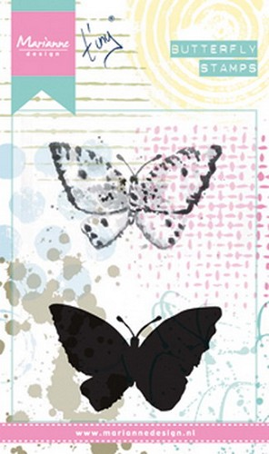 Marianne Design - Cling Stamp - Tiny`s Butterfly 2