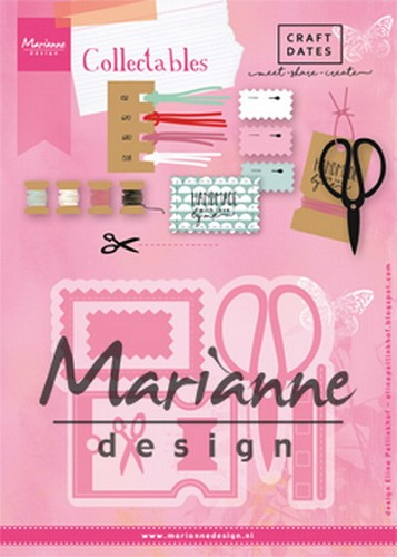 Marianne Design - Die - Collectables - Eline`s Craft Dates